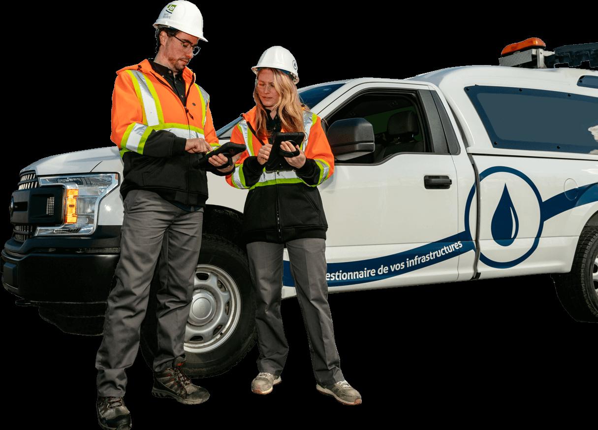 Techniciens opérateurs en eau