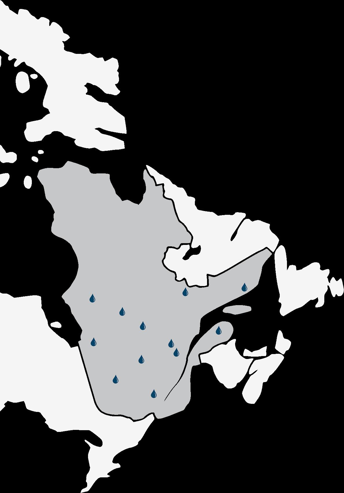 Présence de Tekno partout Québec